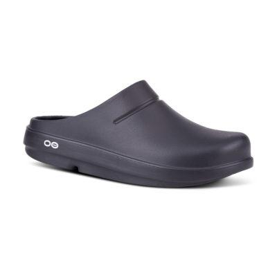 Oofos OOcloog Black Clog