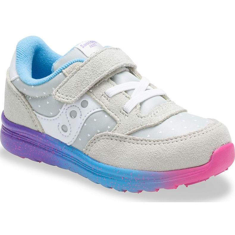 8d92698b Saucony Kid's Baby Jazz Lite Sneaker Grey/Multi