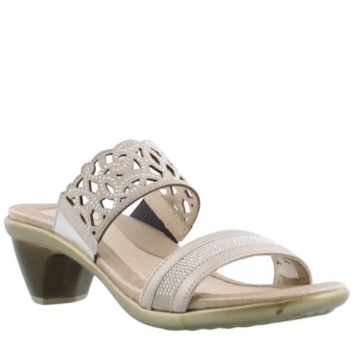 Naot Women's Contempo Mid Heel Sandal Quartz Leather