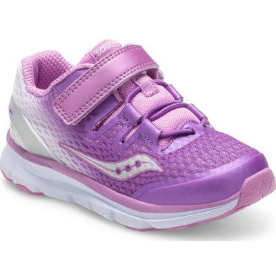 Saucony Kid's Freedom ISO Sneaker Purple/White
