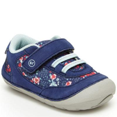 Stride Rite Infant Walker Soft Motion Jazzy Sneaker Navy Multi