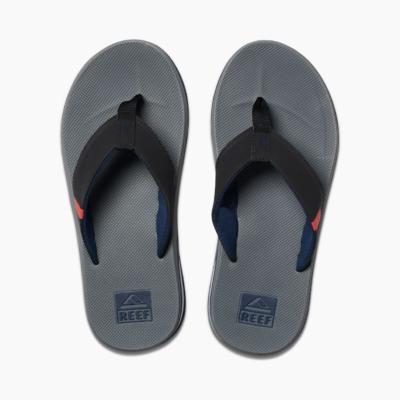 Reef Men's Fanning Low Sandal Grey/Black/Red