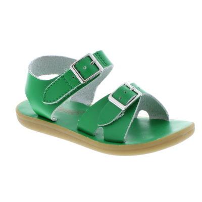 Footmates Kid's Tide Kelly Green Sandal