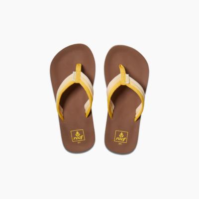 Reef Kid's Ahi Beach Sandal Sunshine