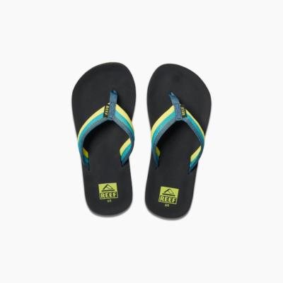 Reef Kid's Ahi Beach Sandal Blue/Green