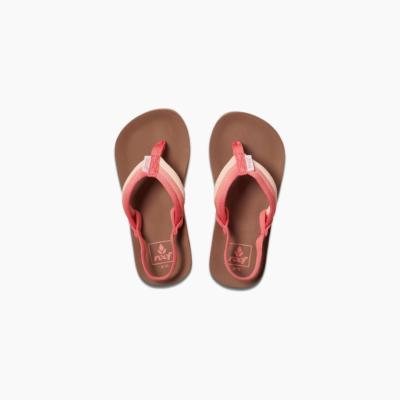 Reef Kid's Little Ahi Beach Sandal Raspberry