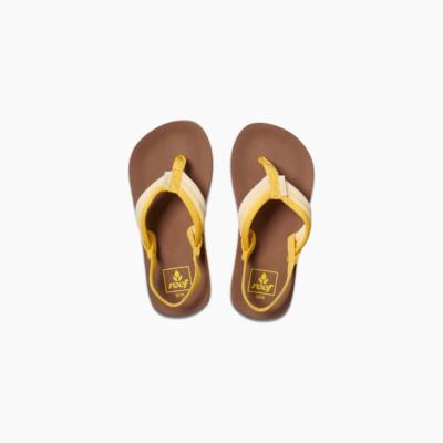 Reef Kid's Little Ahi Beach Sandal Sunshine