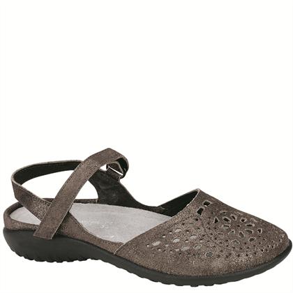 Naot Women's Arataki Grey Shimmer Leather