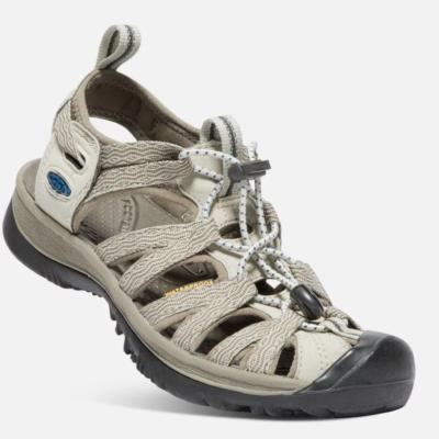 Keen Women's Whisper Sandal Agate Grey/Blue Opal