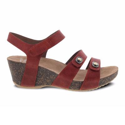 Dansko Women's Savannah Sandal Waxy Burnished Coral