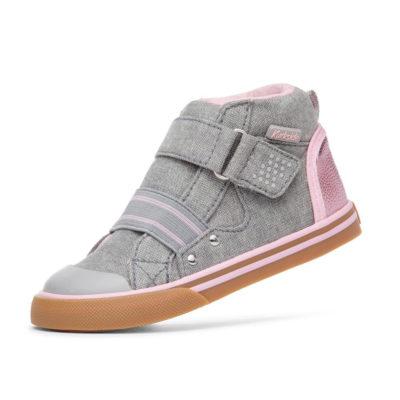 Kurkside Kid's Barca Light Grey/Pink