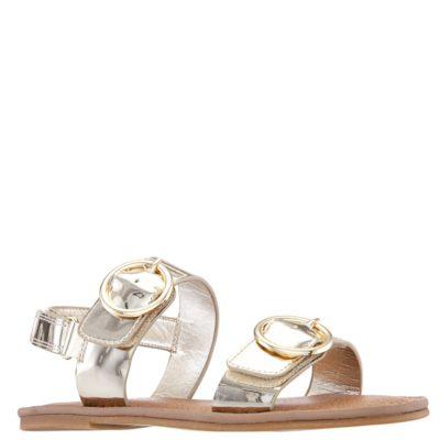 Nina Kid's Brunny Sandal Platino Metallic