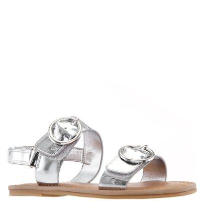 Nina Kid's Brunny Sandal Silver Metallic