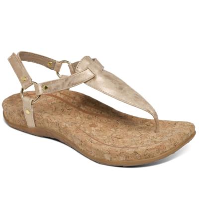 Aetrex Women's Emilia Slingback Thong Sandal Blush