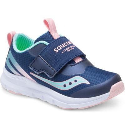 Saucony Kid's Liteform Sneaker Navy/Turquoise