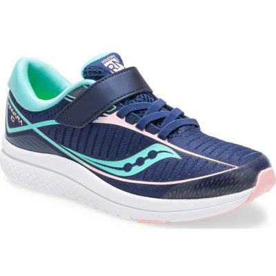 Saucony Kid's Kinvara 10 A/C Sneaker Navy/Turquoise