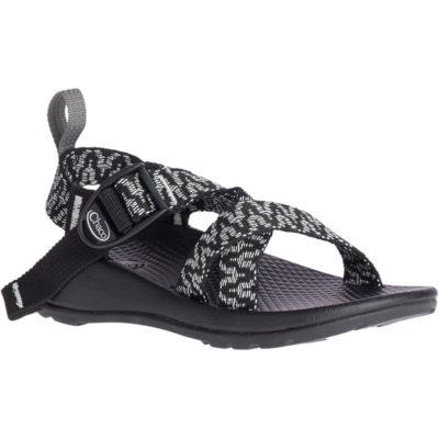 Chaco Kid's Z/1 EcoTread Sandal Tune Black