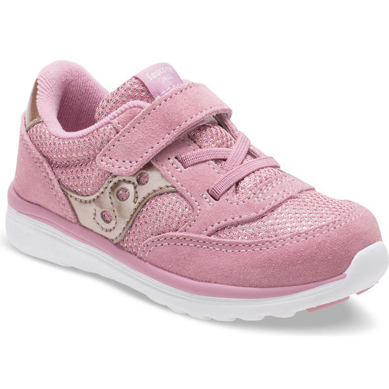 d4af9c4cc335 Saucony Kid s Baby Jazz Lite Sneaker Blush Metallic