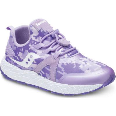 Saucony Kid's Voxel 9000 Sneaker Purple