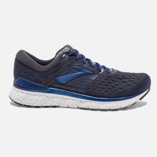 Brooks Men's Transcend 6 Running Shoe Black/Blue