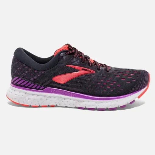Brooks Women's Transcend 6 Running Shoe Black/Purple