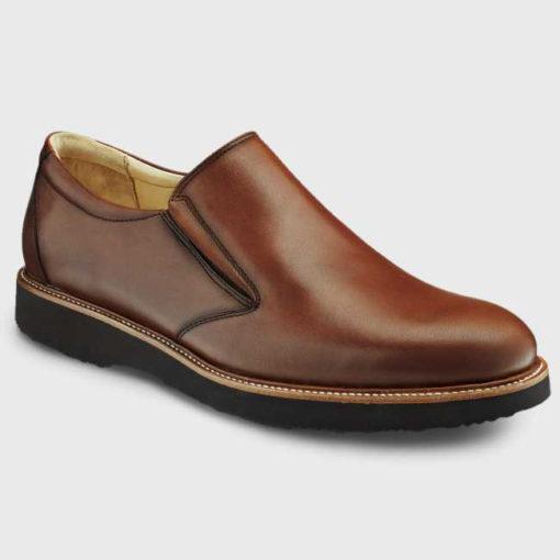 Samuel Hubbard Men's Frequent Traveler Whiskey Tan Leather