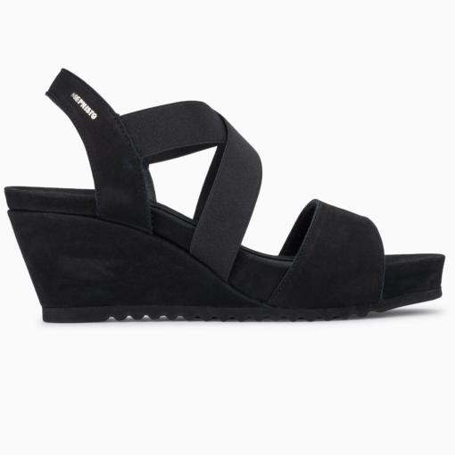 Mephisto Women's Giuliana Wedge Sandal Black