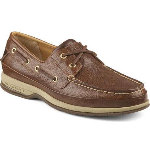 Sperry Men's Gold Cup ASV 2-Eye Boat Shoe Cognac Leather