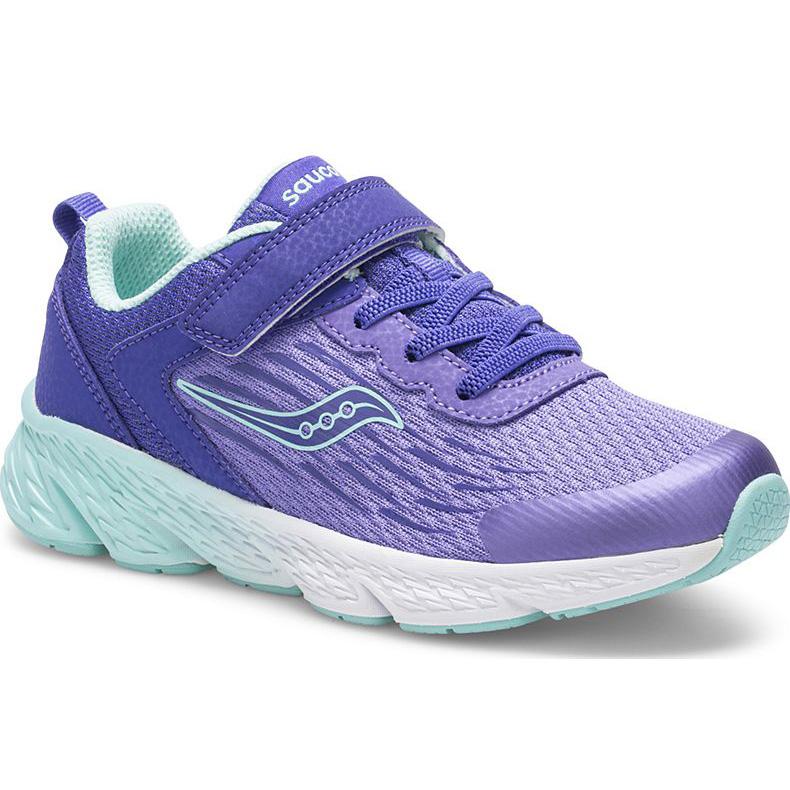 Saucony Kid's Wind A/C Sneaker Purple