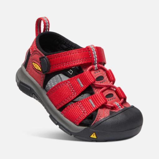 Keen Newport H2 Ribbon Red/Gargoyle Toddler