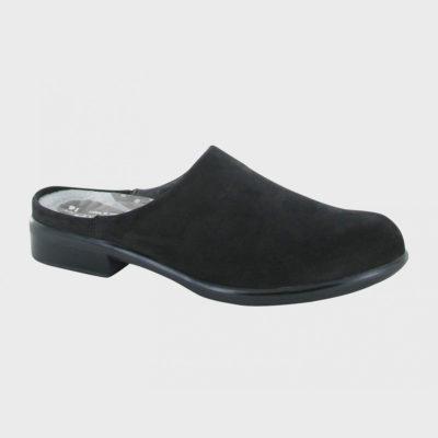 Naot Women's Lodos Black Velvet Nubuck