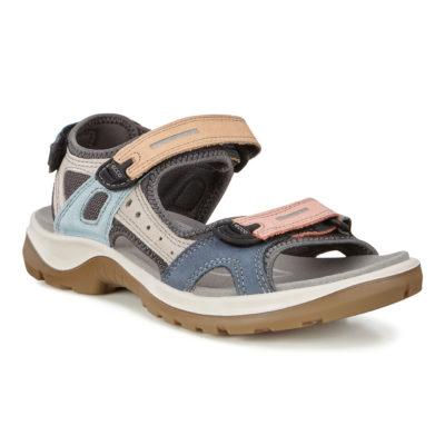ECCO Women's OffRoad Flat Sandal Multicolor