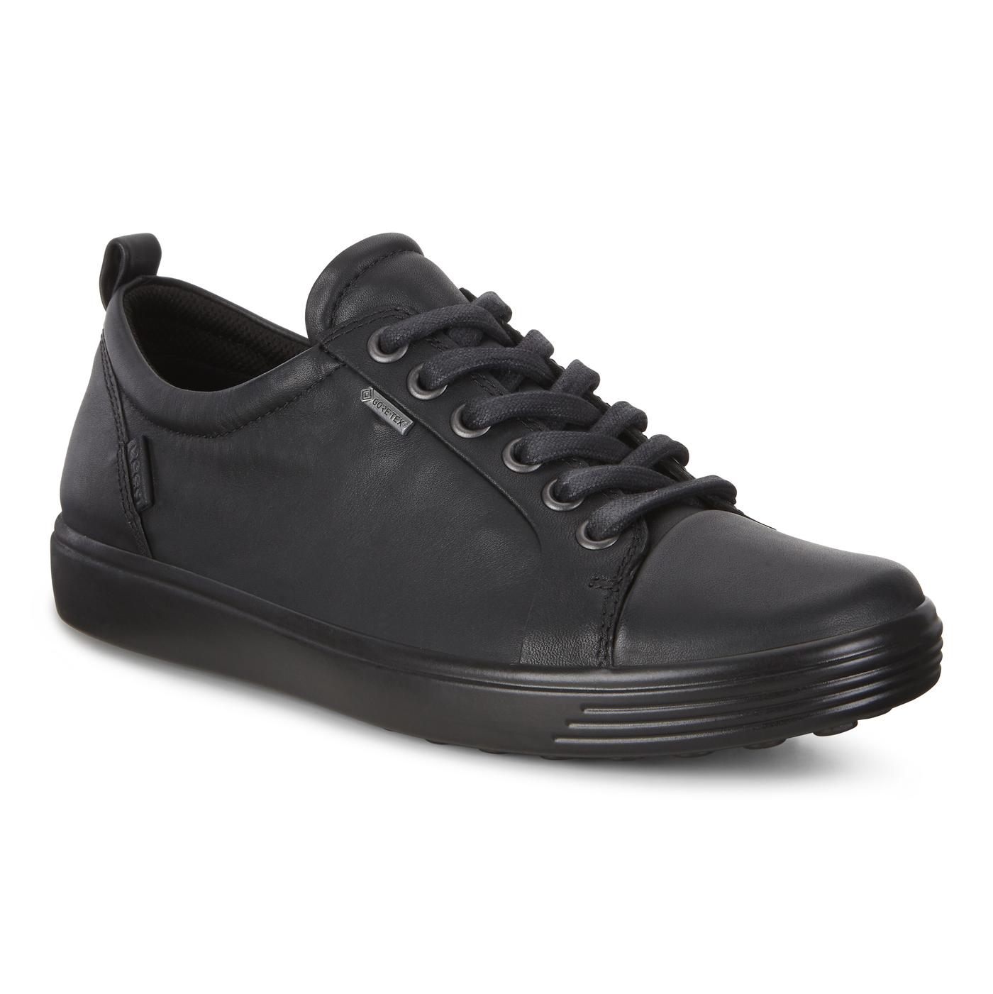 Soft 7 GTX Tie Black Leather