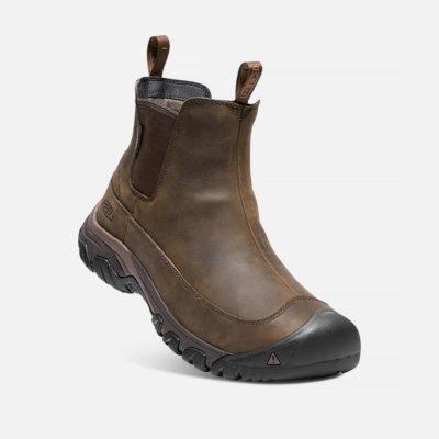 Keen Men's Anchorage III Waterproof Boot Brown