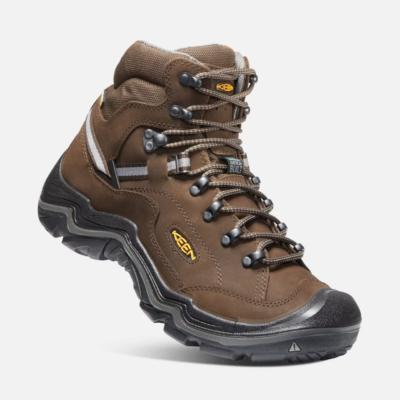 Keen Men's Durand II Mid Waterproof Boot Brown