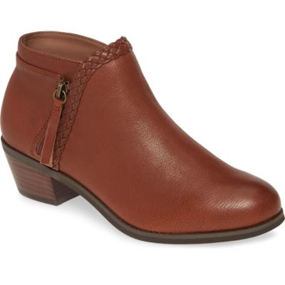 Aetrex Women's Mariana Bootie Whiskey Leather