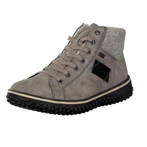 Rieker Women's Z4230-40 Lace-Up Boot Grey