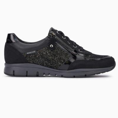 Mephisto Women's Ylona Sneaker Black Leather