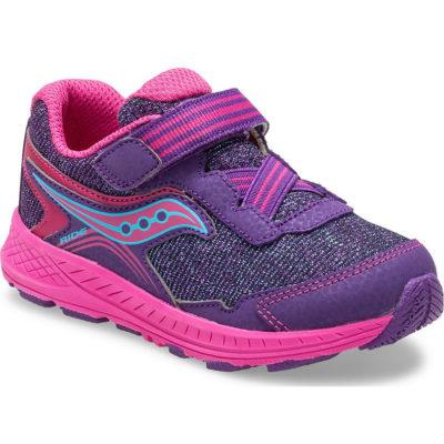 Saucony Kid's Ride 10 Jr. Sneaker Purple