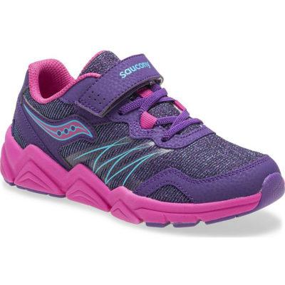 Saucony Kid's Flash A/C Sneaker Purple