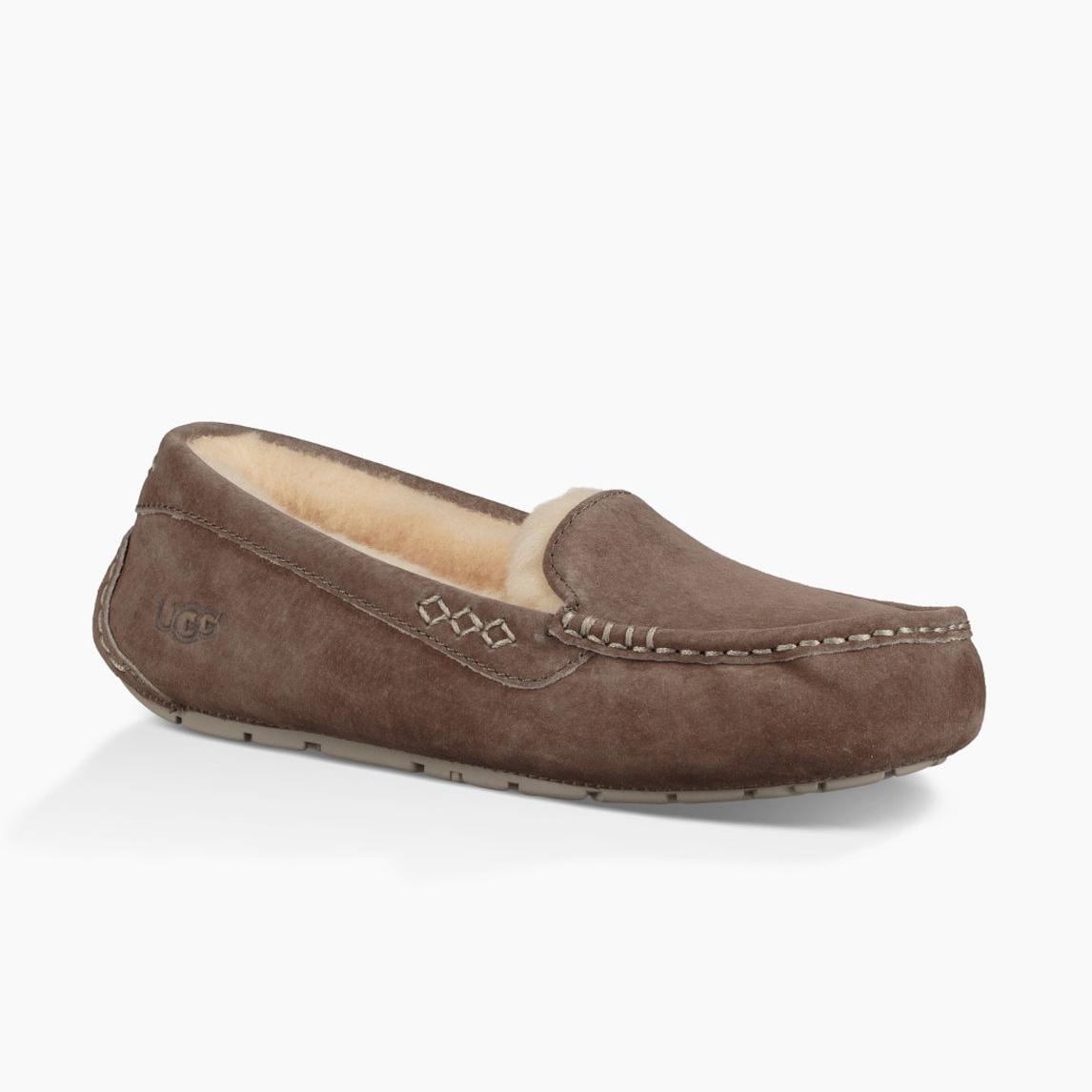 e9e71af007d UGG Women's Ansley Wool Slippers Slate