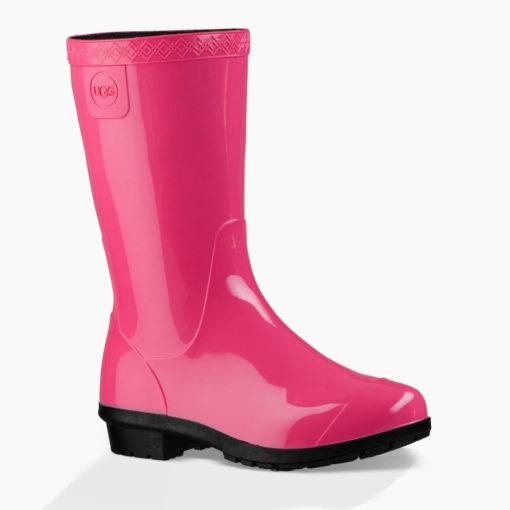 UGG Kid's Raana Rain Boot Diva Pink