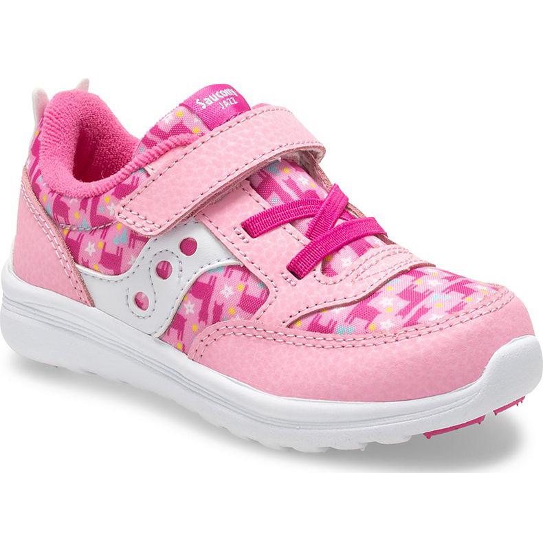 Saucony Girls Baby Jazz Lite Sneaker