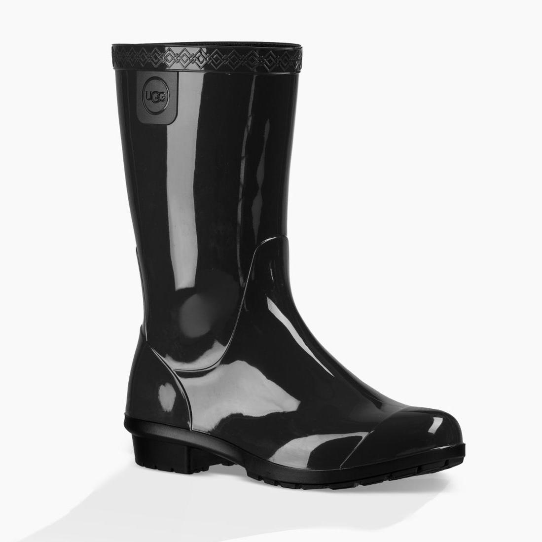 UGG Kid's Raana Rain Boot Black