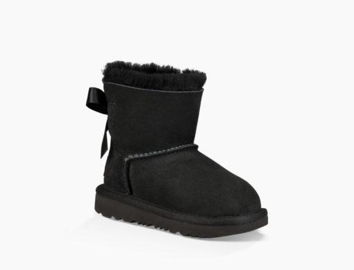 Ugg Toddler's Mini Bailey Bow II Boot Black