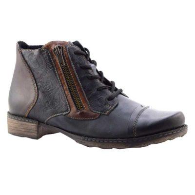 Rieker Women's D4378-16 Remonte Boot Lake Blue