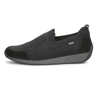 Ara Women's Lilith Slip On Sneaker Black