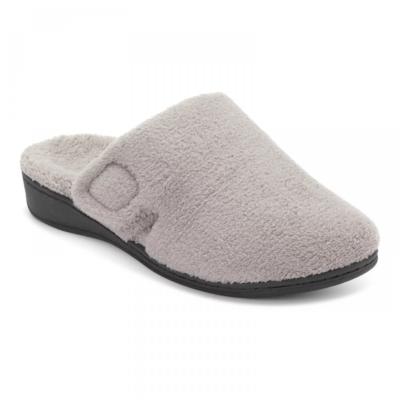 Vionic Women's Gemma Mule Slippers Light Grey