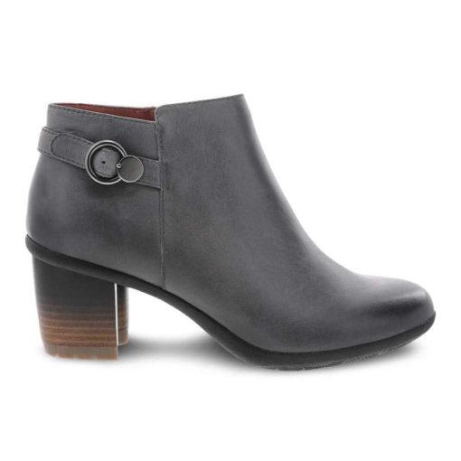 Dansko Women's Perry Boot Grey Waterproof Burnished