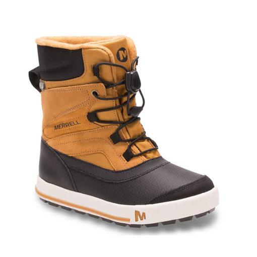 Merrell Kid's Snow Bank 2.0 Boot Wheat/Black